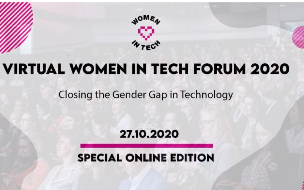 Women in Tech Forum 2020 blog cover picture